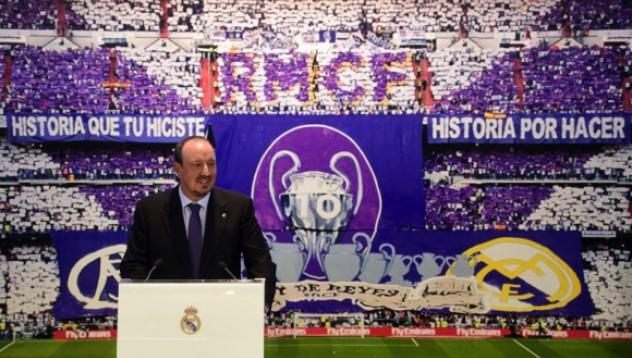 Бенитес ще изгради побеждаващ Реал Мадрид