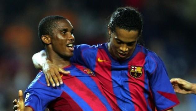 Ето'о и Роналдиньо в един отбор