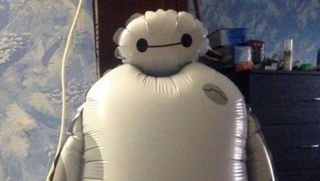 Робот със странен атрибут