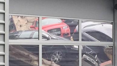 Шоурум на Audi пропадна