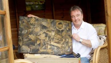 Мъж намери оригинална картина на Пикасо