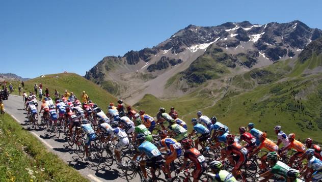 Първата сериозна катастрофа в Тур Дьо франс