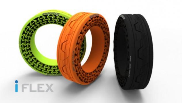 Hankook ще произведат гума, която няма да има нужда от въздух