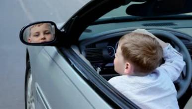 Глобиха 3-годишен шофьор