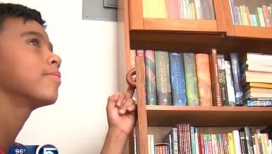 12-годишен чете рекламни брошури, защото няма пари за книги
