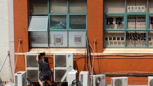 Как се поставят климатици в Китай