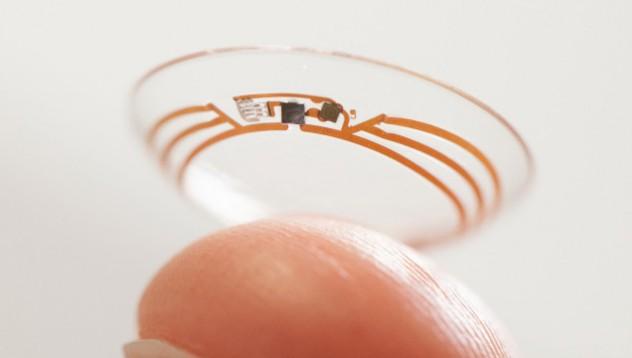 Проектът на Google за контактни лещи с последни тестове