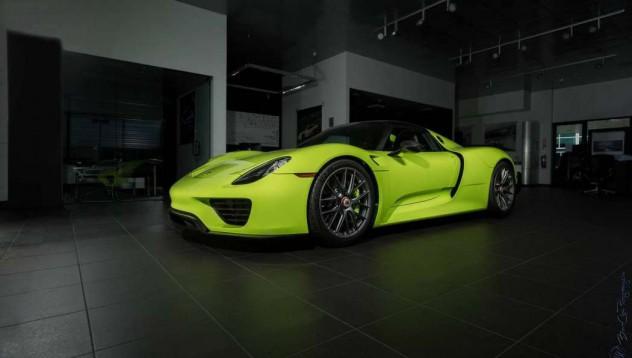 Porsche 918 Spyder за 3 милиона долара