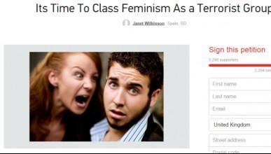 Жена обяви феминизма за тероризъм