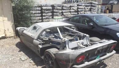 Изоставен Ford GT в Израел