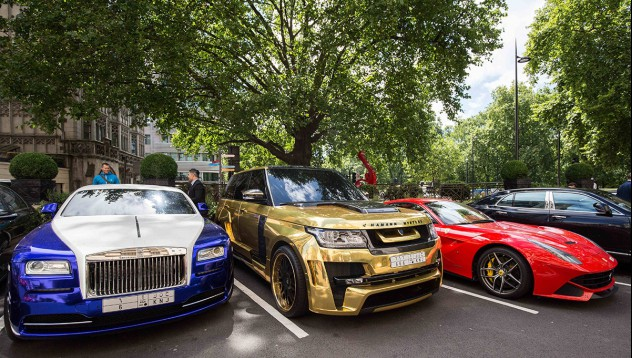 Лондон се превърна в Мека на суперавтомобилите