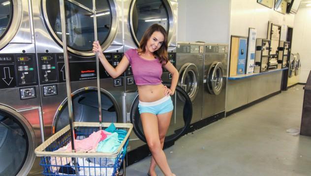 Дилиън завъртя пералнята