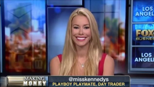 Плеймейтка на Playboy става обсебен дей трейдър