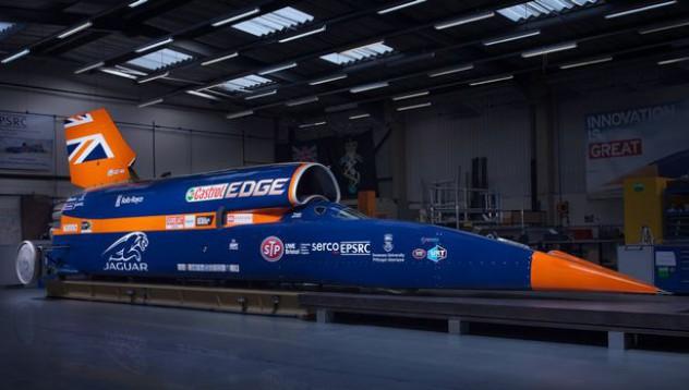 Bloodhound ще поставя нов рекорд за скорост