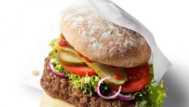 McDonalds пуска органичен бургер