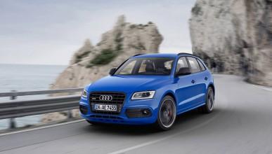 Audi SQ5 TDI Plus е навсякъде