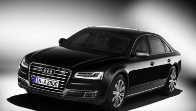 Audi A8 L Security с най-висока протекция