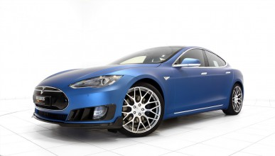 Tesla Model S с тунинг от Brabus