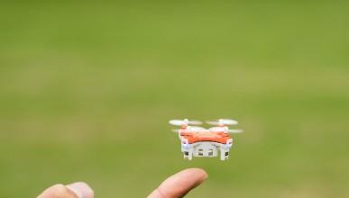 Запознайте се с най-малкия дрон
