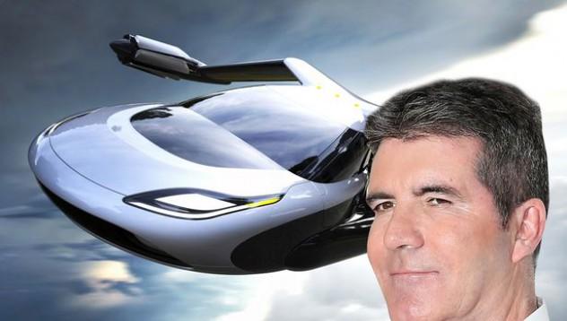 Саймън Кауъл ще си купува летяща кола
