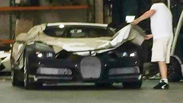 Инженери тестват новия Bugatti Chiron