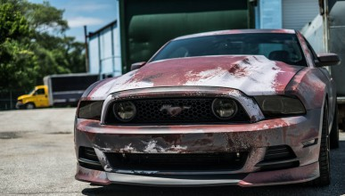 Ford Mustang GT с ръжда