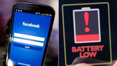 Facebook източва батерията на телефона ви