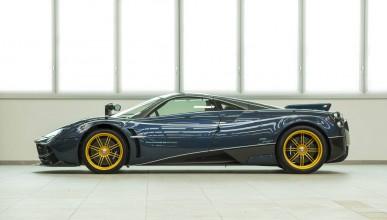 Pagani дебютира в Китай със специален автомобил