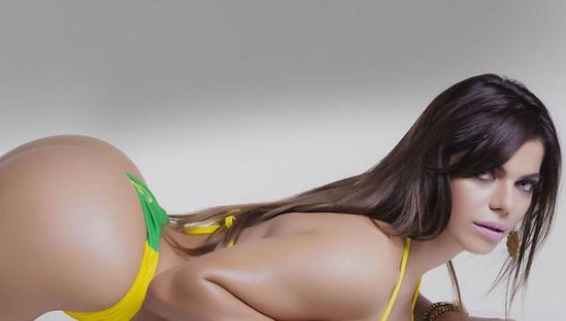 Кралицата на бразилското дупе е от Сао Пауло (18+)