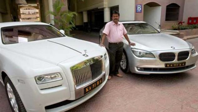 Фризьорът с Rolls-Royce-a