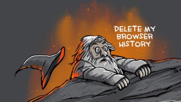 Защо мъжете изтриват своята интернет история