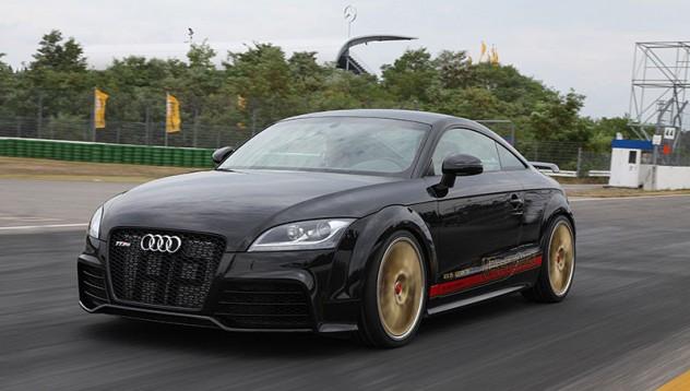 Audi TT с мощност на R8