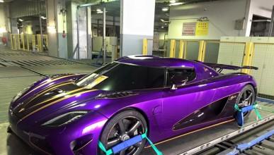 Koenigsegg доставят своите автомобили с частен самолет