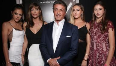 Силвестър Сталоун с три дъщери