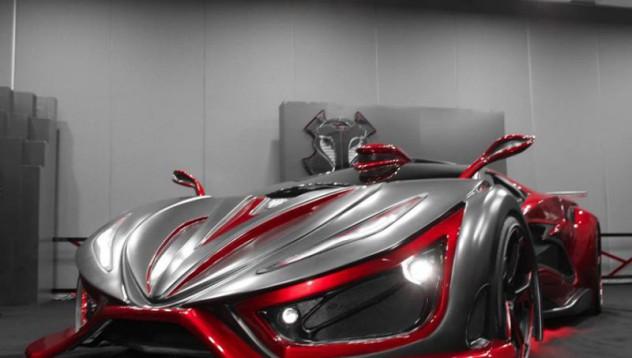 Мексико представя нов суперавтомобил