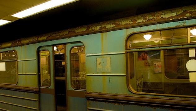 Какво прави САЩ със старите вагони от метрото