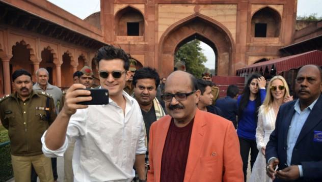 Орландо Блум с леки проблеми към Индия