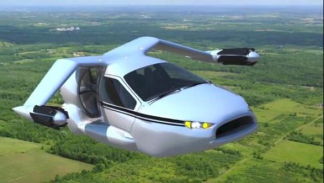 Летящ автомобил започва тестове във въздуха