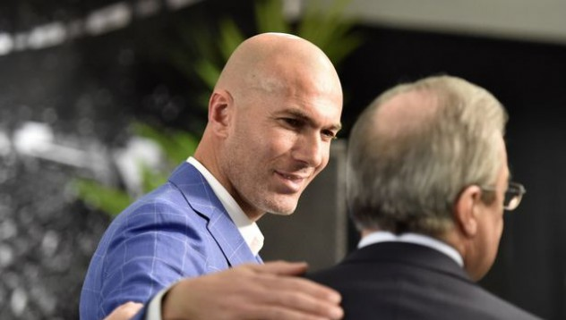Зидан поема Реал Мадрид