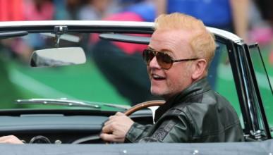 Крис Еванс не се справя със снимките на Top Gear
