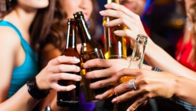 Какво причинява алкохолът на различните части от тялото