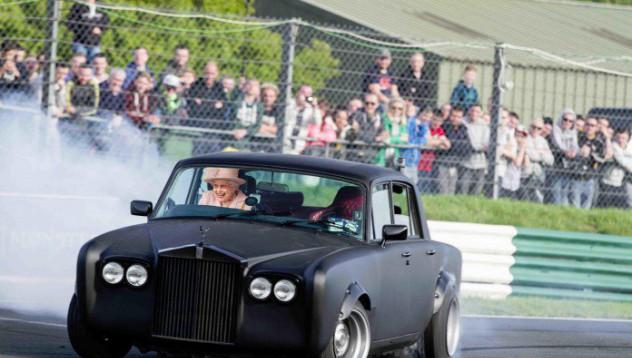Rolls-Royce стана дрифтър