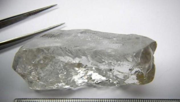 Миньори извадиха най-големият диамант в Ангола