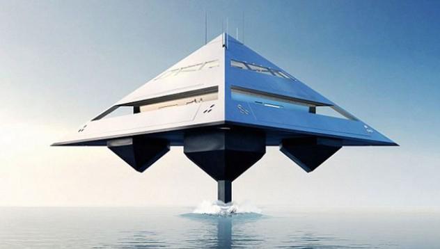 Как изглежда яхтата на бъдещето