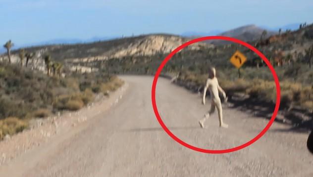 Мъж се разходи с дрон до Зона 51