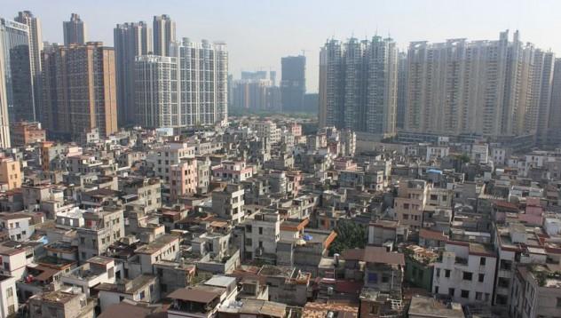 Защо в средата на китайските мегаполиси има малки селища