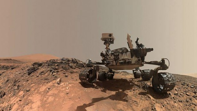 Откриха кръст и храм на Марс