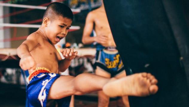 12-годишен кикбоксьор е най-младият атлет на Тайланд