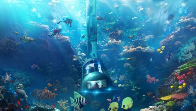 Американска компания ще разработи подводен океански хотел