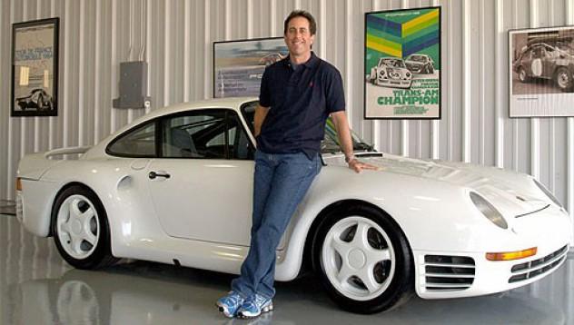 Джери Сайнфелд продаде своите Porsche-та